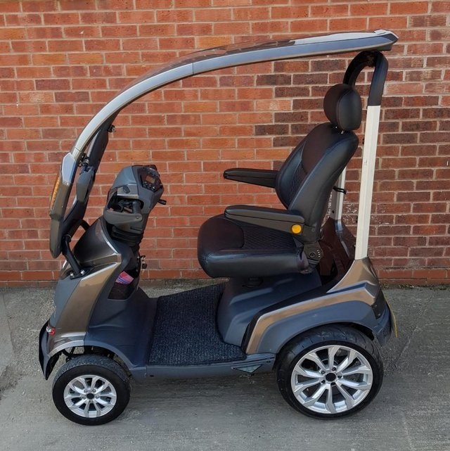 Image 10 of 2017  Royale Sport Mobility Scooter with solid canopy