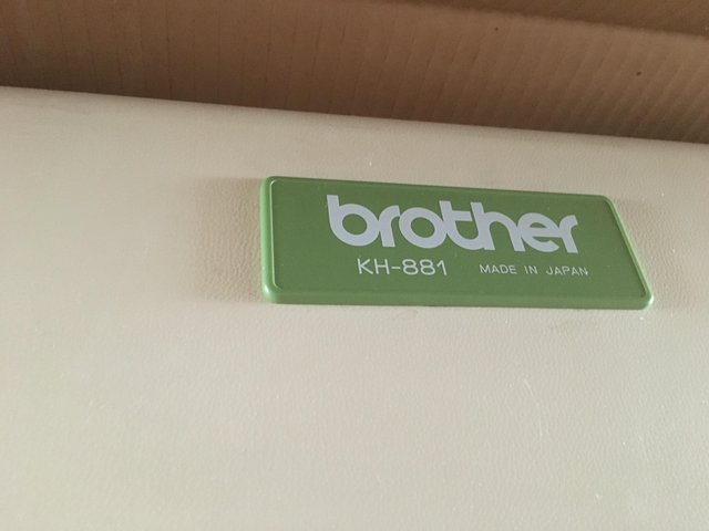 Image 2 of Brother Knitting machine & Ribber