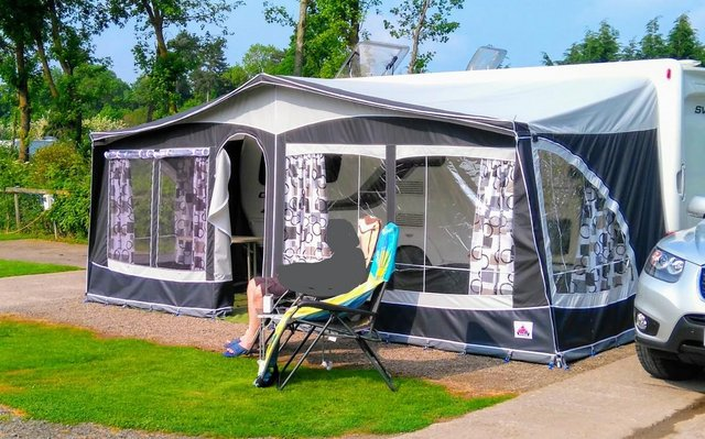 Preview of the first image of Dorema Multi Nova Awning size 14.