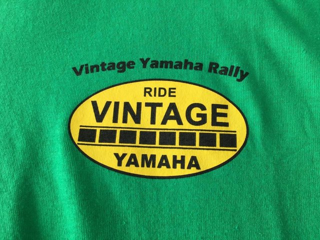 Preview of the first image of Vintage Yamaha Rally T shirt.