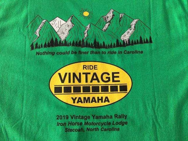 Image 2 of Vintage Yamaha Rally T shirt