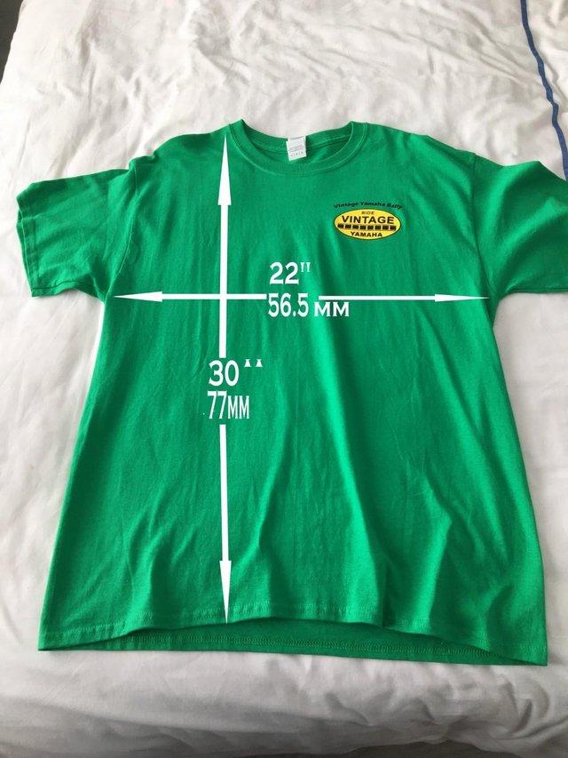 Image 3 of Vintage Yamaha Rally T shirt
