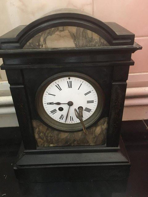 Preview of the first image of Marble antique clock.