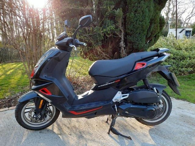Image 3 of PEUGEOT SPEEDFIGHT 4 125CC FOR SALE