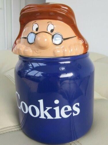 Preview of the first image of WADE LYONS TETLEY TEA COOKIE JAR BISCUIT BARREL GAFFER LIDS.