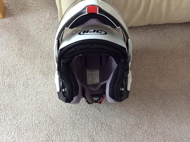 Preview of the first image of Flip up new crash helmets.