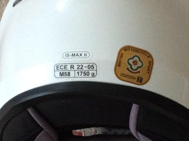 Image 2 of Flip up new crash helmets