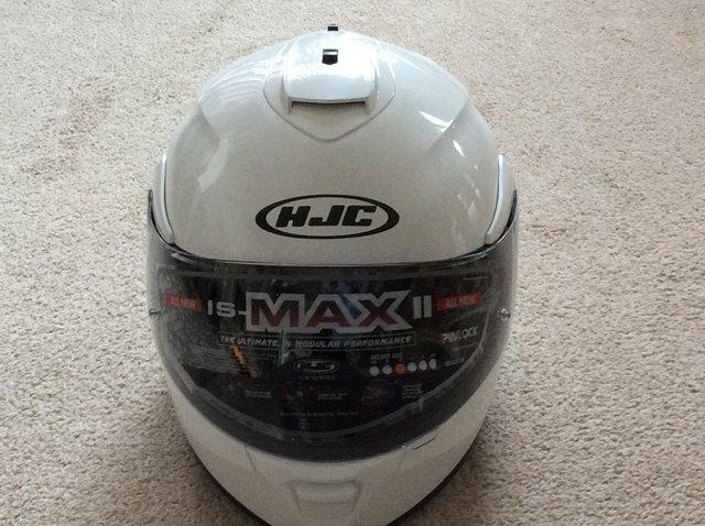Image 2 of Flip up crash helmet