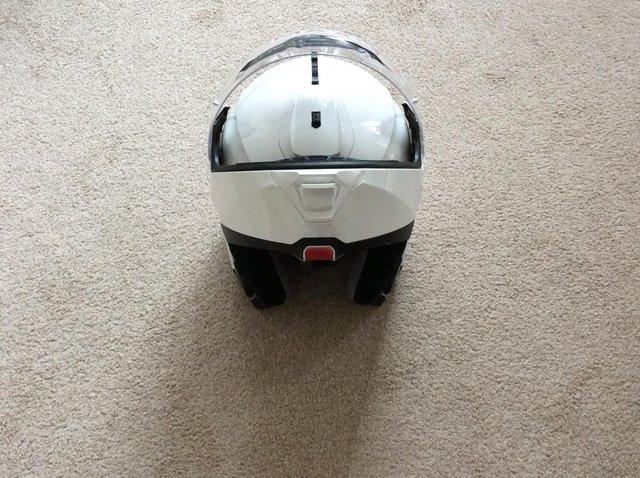 Image 6 of Flip up crash helmet