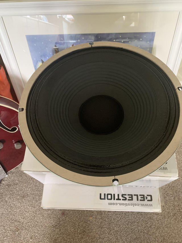 Preview of the first image of CELESTION ELECTRIC GUITAR AMPLIFIER SPEAKERS.
