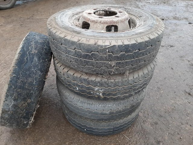 Preview of the first image of 5 x Ford Transit Tyres & Rims.