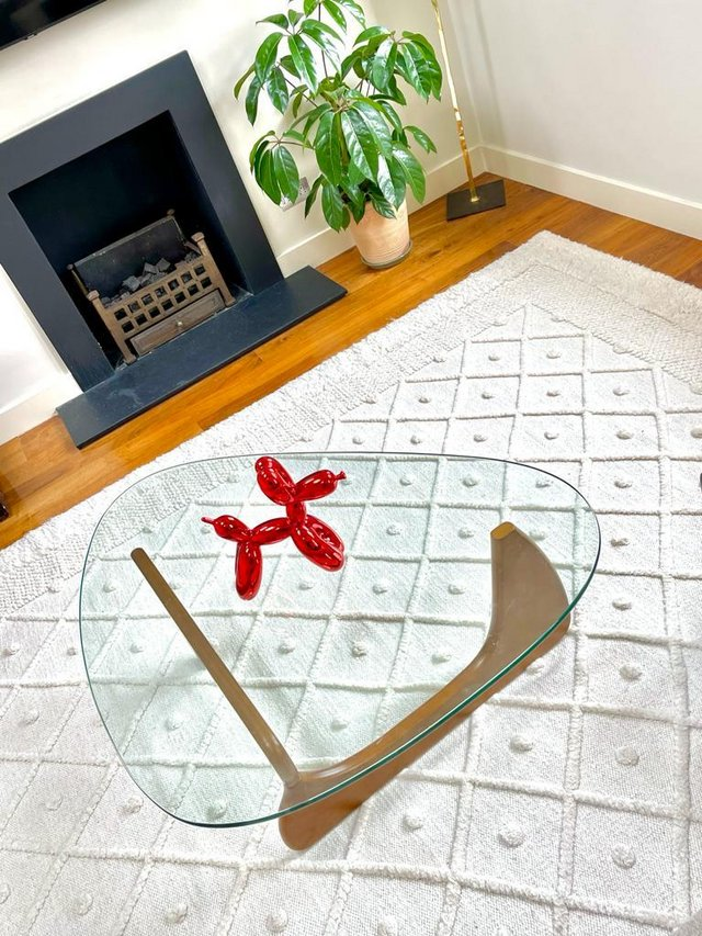 Preview of the first image of Beautiful handmade New Zealand wool rug - customisable size.