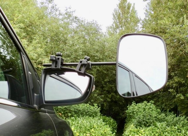 Preview of the first image of Pair of Milenco Grand Aero Towing Mirrors.