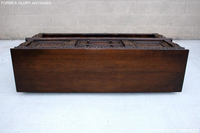Image 5 of A TITCHMARSH AND GOODWIN CARVED OAK SIDEBOARD DRESSER BASE