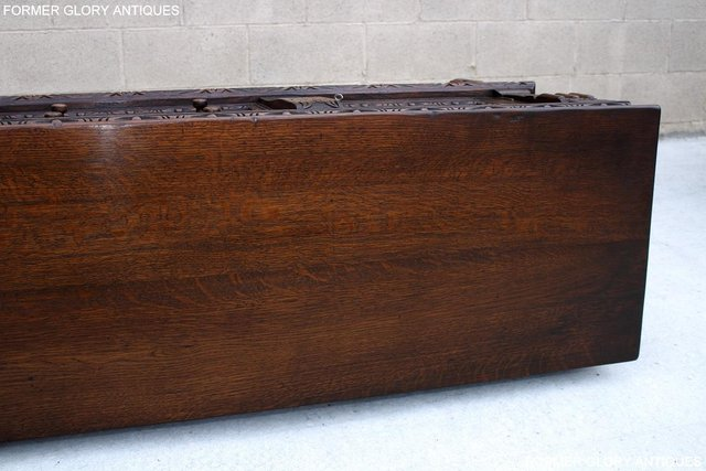 Image 49 of A TITCHMARSH AND GOODWIN CARVED OAK SIDEBOARD DRESSER BASE