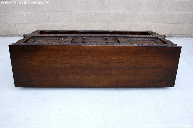 Image 71 of A TITCHMARSH AND GOODWIN CARVED OAK SIDEBOARD DRESSER BASE