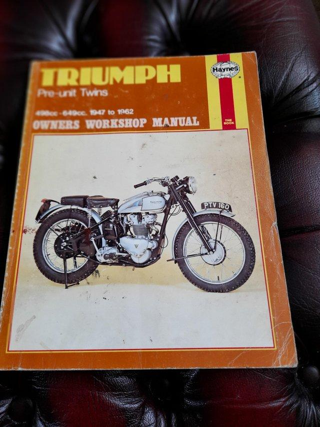 Preview of the first image of Motorbike workshop books,.