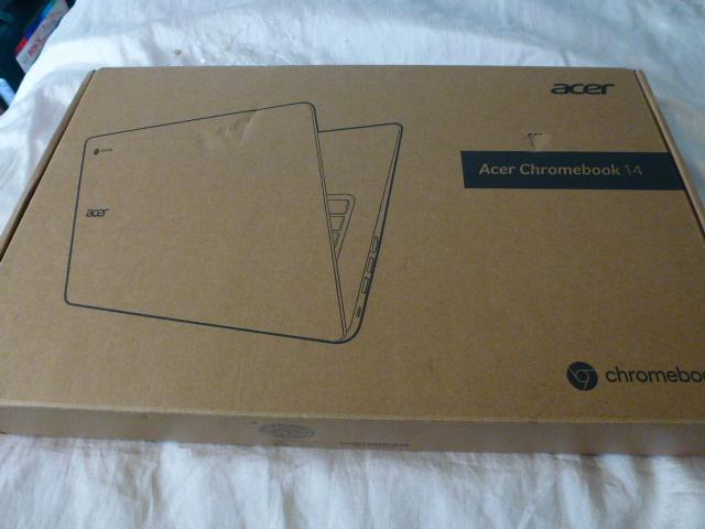 Preview of the first image of ACER  CB3 431  CHROMEBOOK 14 inch FULL  HD,  PRISTINE.