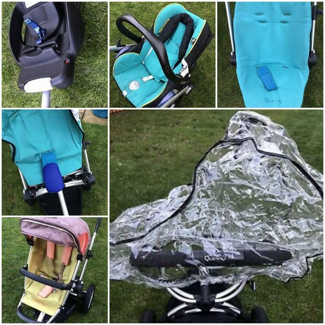 Preview of the first image of Full pushchair  travel system  and extra quinny buzz.