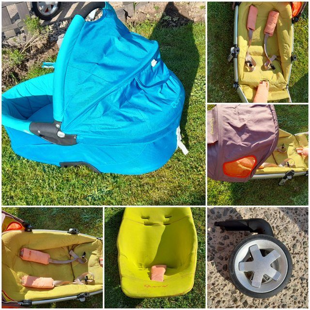 Image 2 of Full pushchair  travel system  and extra quinny buzz