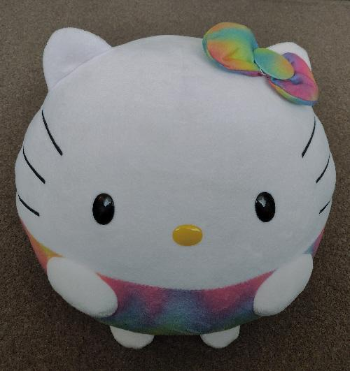 """Preview of the first image of Hello Kitty 13"""" Rainbow Beanie Ballz & New String Lights."""