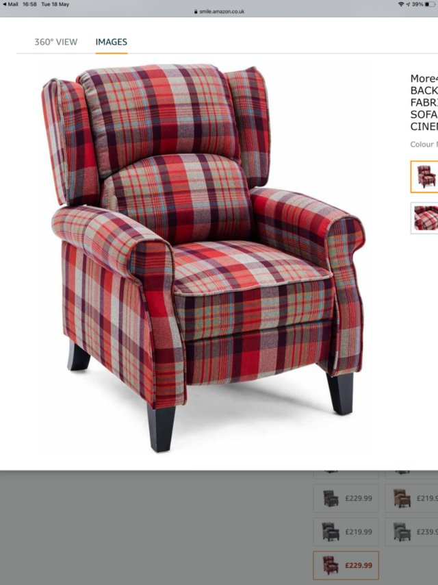 Preview of the first image of Pair of recliners.