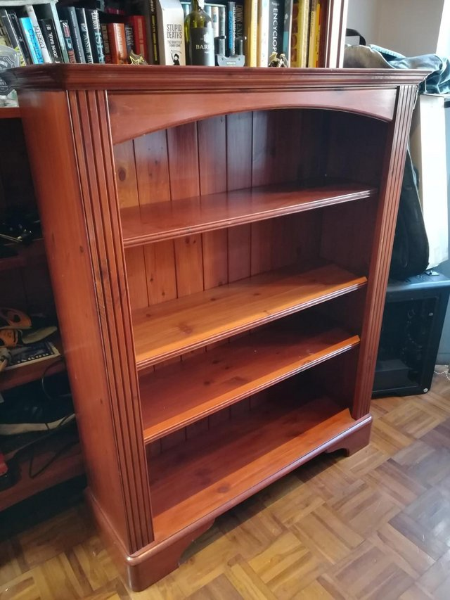 Preview of the first image of Ducal Pine Low Bookcase.