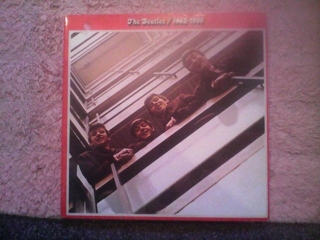 Preview of the first image of THE BEATLES 62-66+67-70 DOUBLES EXCELLENT CONDITION.