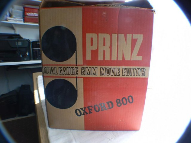 Preview of the first image of Prinz Oxford 800 Dual Gauge 8mm Movie Editor.