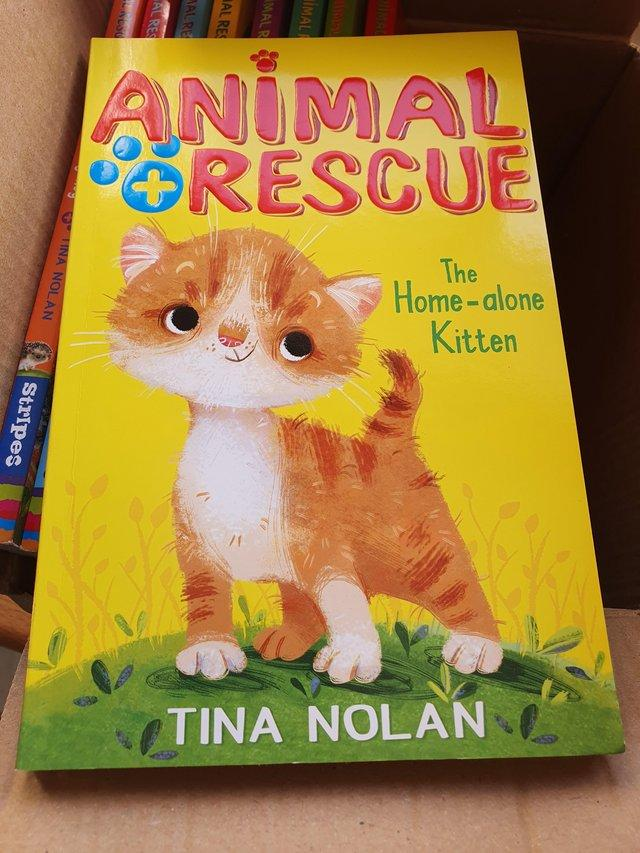 Preview of the first image of Kids books Rescue animals full series 5-8 age.