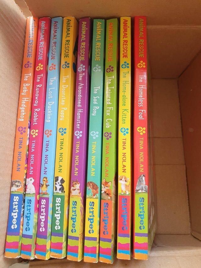 Image 3 of Kids books Rescue animals full series 5-8 age