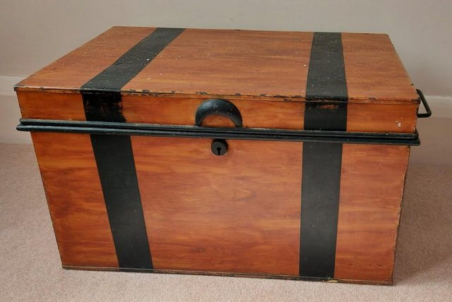 Image 2 of Metal Trunk - Small