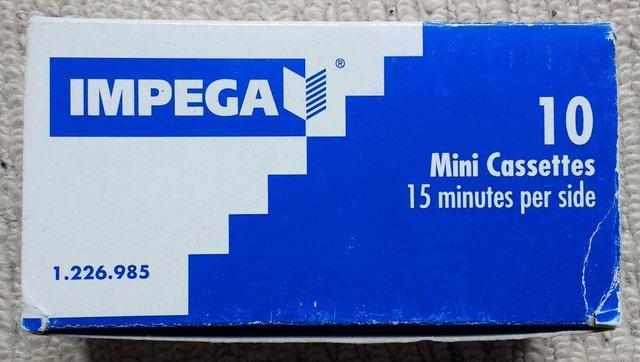 Image 7 of Sanyo TRC-3680 mini cassette voice recorder in pouch