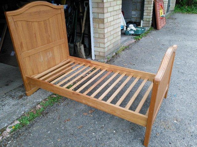 Image 2 of BebeCar Trama cot bed