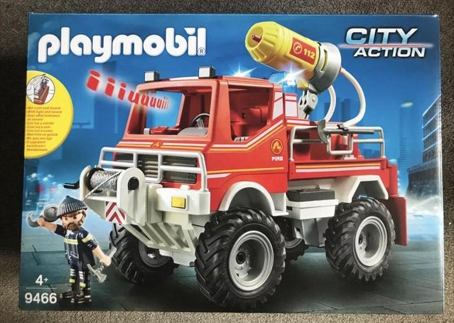 Preview of the first image of NEW Playmobil 9466 City Action Fire Engine Truck.