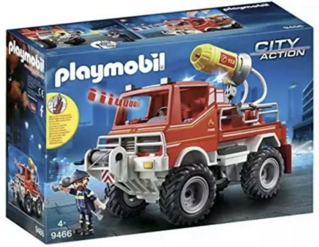 Image 3 of NEW Playmobil 9466 City Action Fire Engine Truck