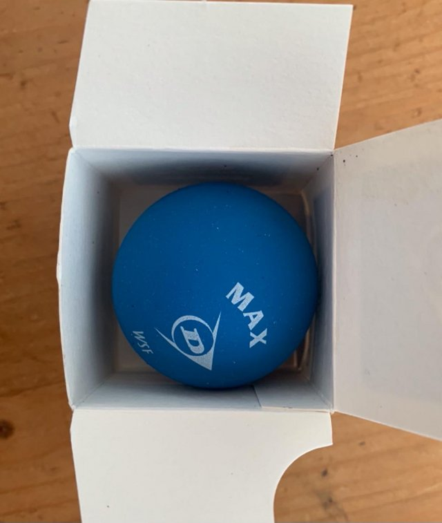 Preview of the first image of Dunlop sport squash balls beginners.