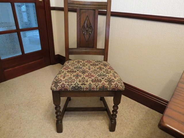 Image 3 of Dining Table- Made By Old Charm