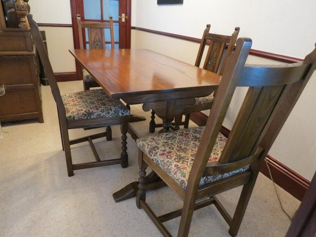 Preview of the first image of Dining Table- Made By Old Charm.