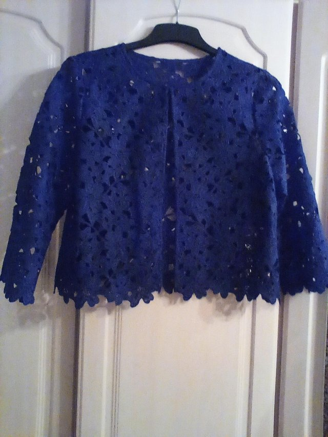 Image 2 of ,2 lacy cardigans or jacket size 14 immaculate