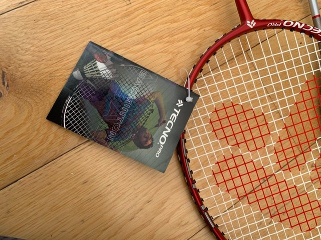 Preview of the first image of Badminton rackets x2.