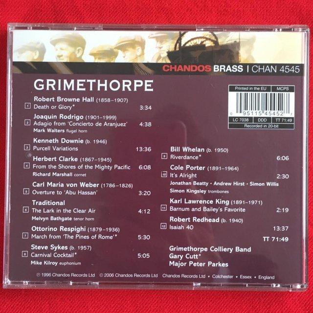 Image 2 of Grimethorpe Colliery Band CD.