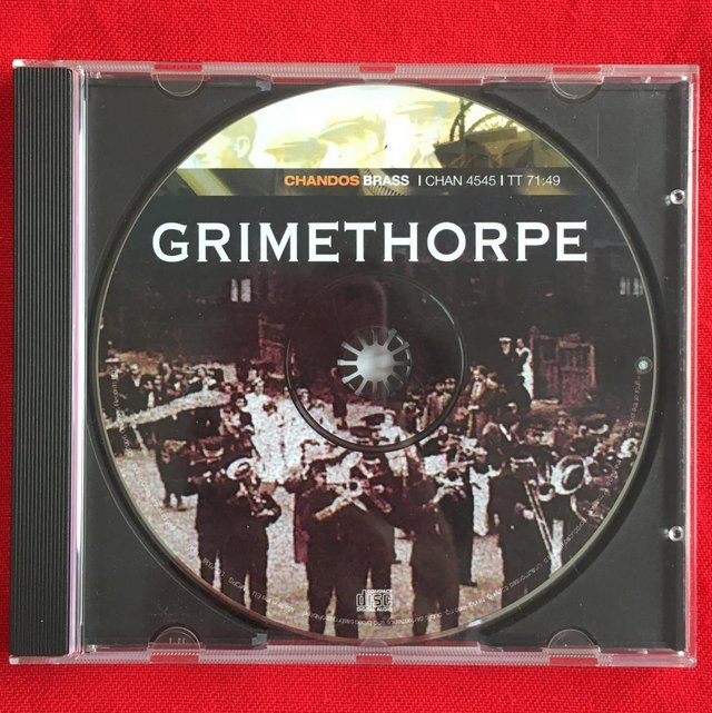 Preview of the first image of Grimethorpe Colliery Band CD..