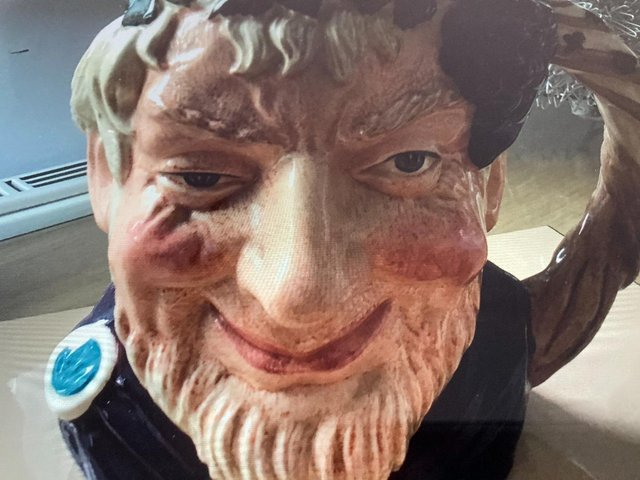 Preview of the first image of ROYAL DOULTON CHARACTER JUGS,.