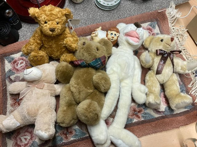 Preview of the first image of collection of soft toys.