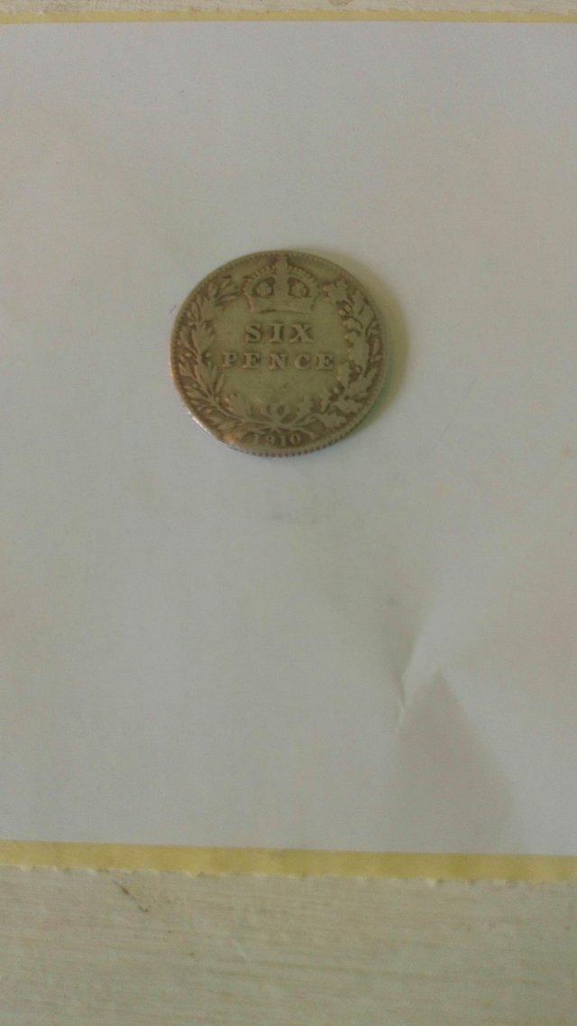 Preview of the first image of 1910 Sixpence.