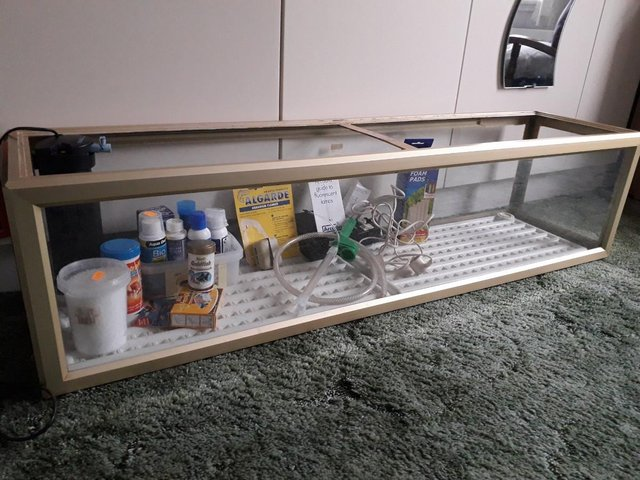 Image 2 of Aquarium for sale with Fluval filter and other accessories