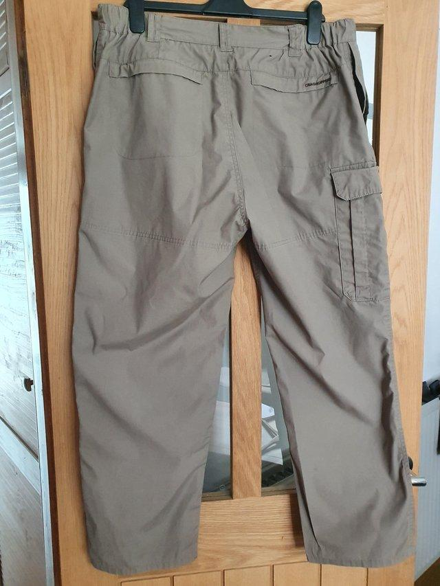 Preview of the first image of MENS CASUAL TROUSERS SIZE 36S.