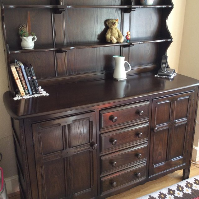 Image 2 of Solid oak Ercol dresser, in immaculate condition