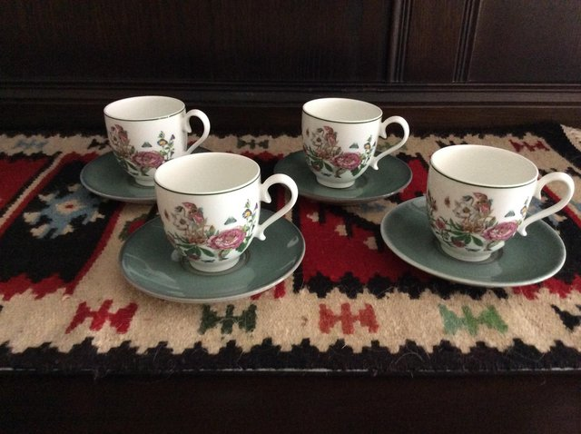 Preview of the first image of Coffee set, Portmeirion cups and Denby plates.